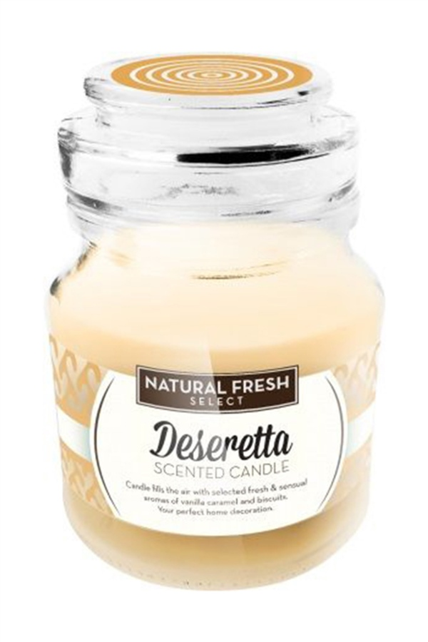 Natural Fresh SCENTED CANDLE-Deseretta