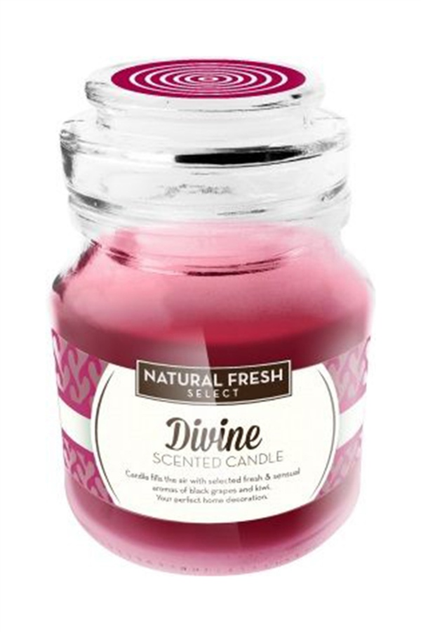 Natural Fresh SCENTED CANDLE-Divine