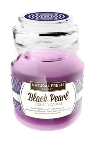 Natural Fresh SCENTED CANDLE-Black Pearl