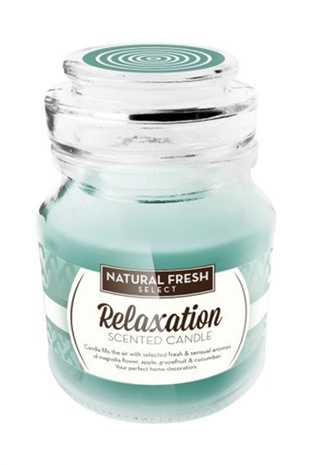 Natural Fresh SCENTED CANDLE-Relaxation